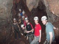 Grupo de espeleologos