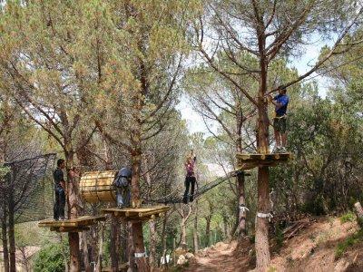 Sant Feliu Parc Aventura Despedidas de Soltero