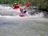 Sfida in acqua con il kayak