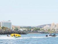 Embarcacion con flyfish