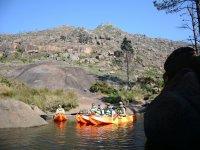 Tramo tranquilo del rio gallego