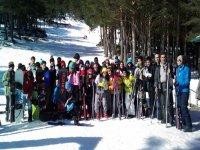 我们的滑雪站
