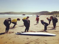 exercise before surfing