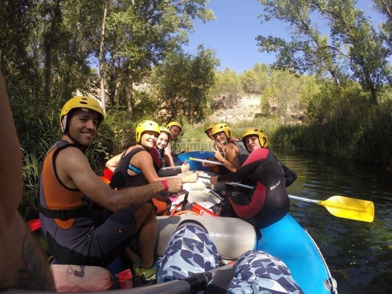Hacer rafting en el Guadiela