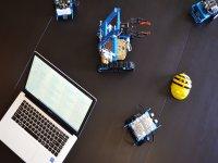 Ordenador y robots en Valladolid