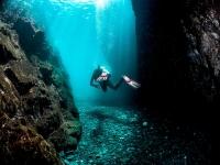 Actividad de submarinismo en Jávea