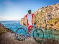 Actividad de bici de montaña en Jávea