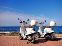 Paseo en moto por la costa del Sol