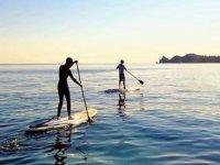 Actividad de paddle surf en Jávea