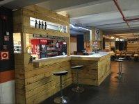 Bar del circuito indoor