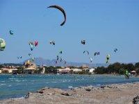 Zona de kitesurf en Mallorca