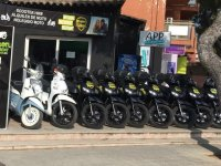 Scooters for rent in Menorca