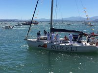 Sailing day on the Santander Coast