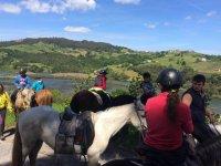 A caballo por paisajes cantabros
