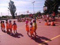 Pistas deportivas campamento urbano Zaragoza