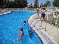 Tiempo en la piscina campamento de dia Zaragoza
