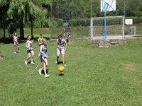 Juegos deportivos en el campamento de Aisa