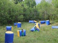 Paintball en el campamento de Aisa