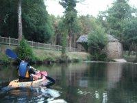 precioso recorrido en kayak