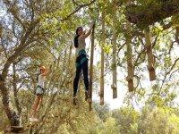 Circuito tra alberi a Malaga