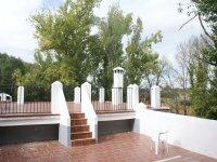 Terrazza della piscina ad Archidona