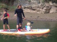 paddle surf con los peques