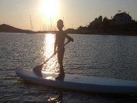 paddle surf con niños