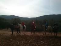 Salida ecuestre por los Montes de Toledo