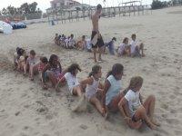 Campamento de surf para niños en Castellón