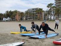 Campamento de surf en Benicasim