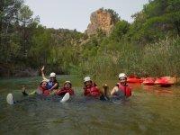 Dejando a un lado los kayaks