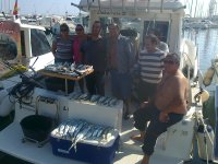 Fishing result in Tarragona