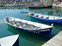 Barcas en Arenys de Mar