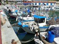 Barcos en el puerto de Arenys