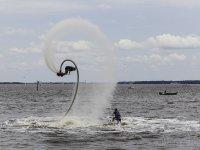 与Flyboard Voltereta与Flyboard