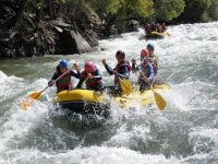 rafting and adrenaline