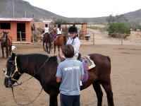Monitor con amazona en Fuerteventura