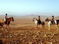 Montadas en caballos en Fuerteventura