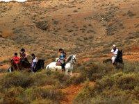 Salida a caballo interior de Fuerteventura
