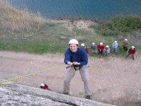 在Buendía的天然攀岩