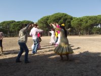 Dancing in El Rocio