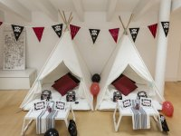 Pirate party with tipis in Mallorca