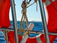 Salvavidas en el barco
