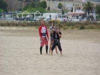 类风筝冲浪有两个学生