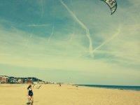 玩风筝和风