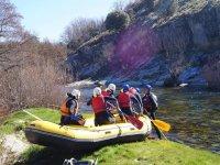 Rafting cerca de Salamanca