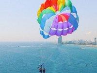 巴塞罗那海岸帆伞运动
