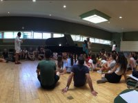 Camp rehearsals Rada musical