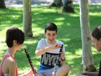 Clarinet in the Cantabria camp