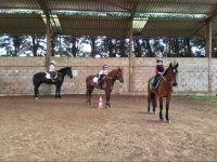 Clase de equitacion en Deva